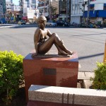 雨宮敬子銅像
