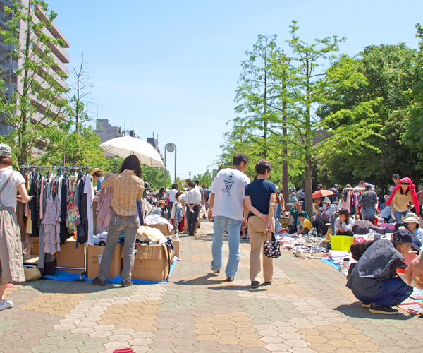 市民リサイクル フリーマーケット