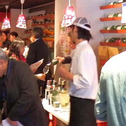 日本ワイン試飲会